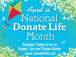 April is Donate Life Month