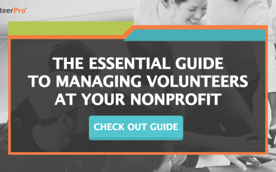 Free Resource: The Essential Guide to Managing Volunteers at Your Nonprofit