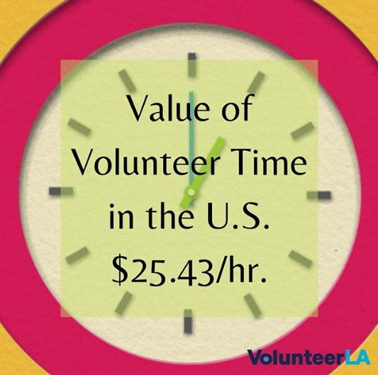 Volunteer Value in Dollars