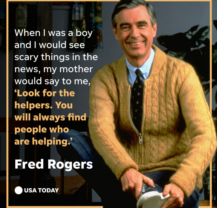 Volunteer Services In A Time of Crisis: Look for the Helpers